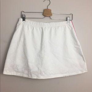 NWT Lilly Pulitzer White Paisley Tennis Skirt
